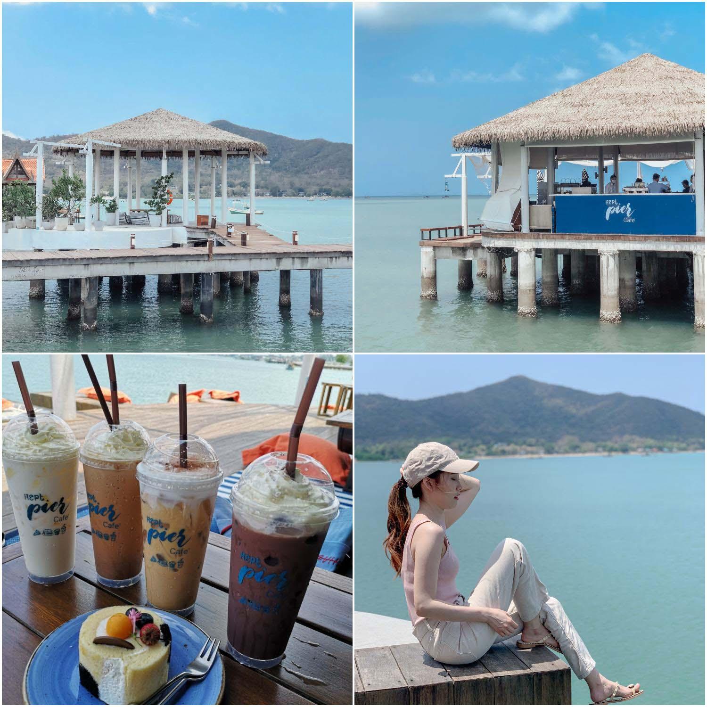 Kept Pier Cafe คาเฟ่ริมทะเลบางเสร่ พัทยา ชลบุรี บอกเลยต้องมาเช็คอิน